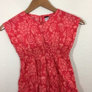 Tea Collection Dresses - Tea Collection red floral dress